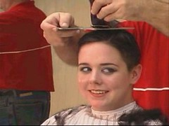 headshave - 2009-06-02_114530 (bob cut) Tags: ladies haircut sexy girl happy bald shave razor headshave