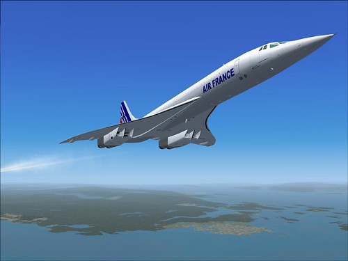 Simulated Concorde by KOBUS 2C