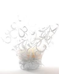 Silver Cupcake