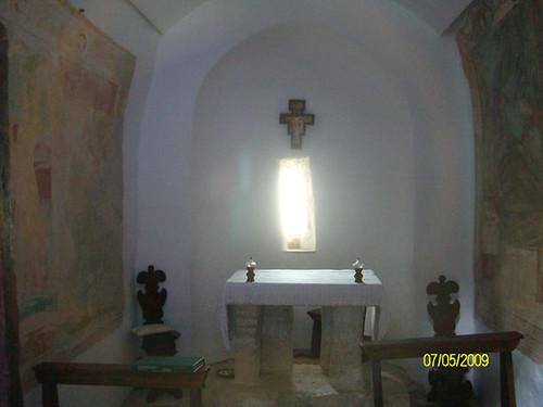 Interno Santuario superiore - Santuario dello Speco