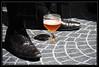 Verre à pied (chando*) Tags: brussels feet beer glass shoes bruxelles magritte pieds bière chimay chaussures verre surréalisme muséemagrittemuseum