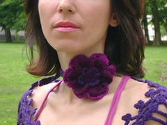 Multi functional elegant 2 (VitalTemptation , Etsy) Tags: favorite love wool beautiful scarf design women warm purple lace crochet wide plum knit wrap romantic accessories shawl lovely care multicolor capelet affordable femenine extralong anyoccasion etsyhookersteam comforatable capalat