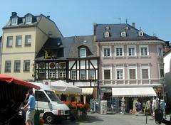 Boppard - Marktplatz (roger4336) Tags: 2004 germany deutschland markt rhine rhein marktplatz halftimbered boppard rheinlandpfalz fachwerk