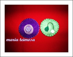 100_5644-orkut mariateimosa (CONCEIO TORRES - maria teimosa feminina) Tags: de feltro cabelo agulha linha bordado botes acessrio flordeseda feitoamo peanica hipbotunsquare bordadocomretalhos