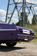 Plymouth Duster 1971 - arrière