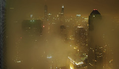 Fog @ Chicago night (doug.siefken) Tags: chicago art weather fog cith siefken dougsiefken