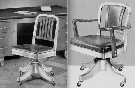 task chair history