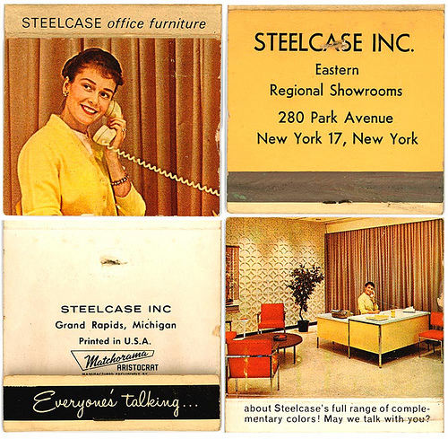 steelcase desk ad on matchbook