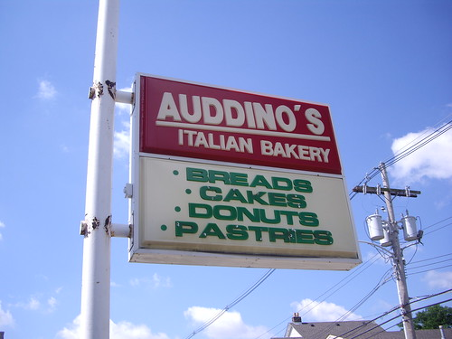 Sign at Auddino's Bakery (Columbus, OH)