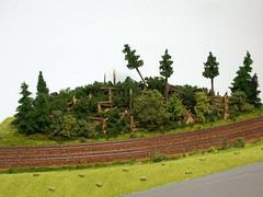 PICT4865 (dampflok44) Tags: modelleisenbahn modelrailroad modellbahn windbruch fichtenwald modelllandschaft modulanlage