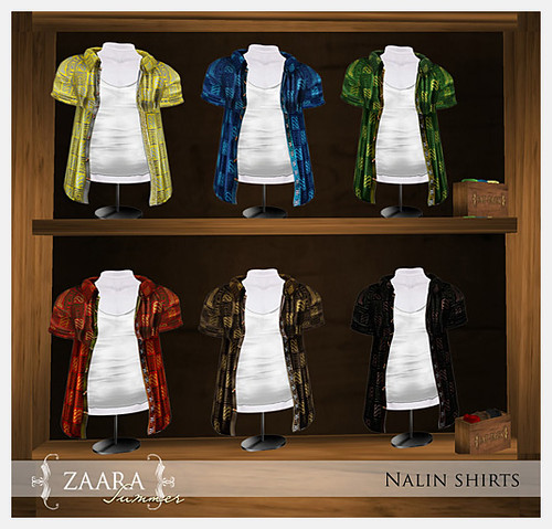{Zaara} Summer : Nalin colors
