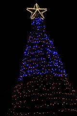 BW991 Christmas Tree (listentoreason) Tags: christmas sky usa holiday night america unitedstates pennsylvania farm scenic favorites places christmastree event ornament christmasornament shadybrook ef28135mmf3556isusm holidaylighting score25 shadybrookfarm