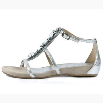 Moda calzado mujer verano 2010, sandalias para mujer de Unisa
