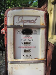Gilbarco Gas Pump (blazer8696) Tags: canon vintage is antique connecticut ct rail powershot gas pump trail valley monroe imperial gasoline greenway 2010 railtrail stepney trumbull housatonic img0128 pequonnock hrrc gilbarco rte25 t2010 sx120 rockraymond