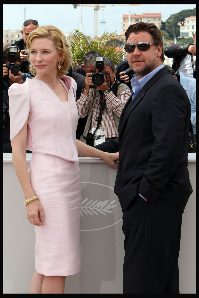 Russell Crowe y Cate Blanchett