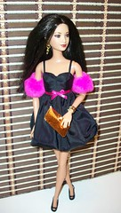Nora  the  Fashionista (napudollworld) Tags: world pink black sexy kiss cambodia dolls princess barbie nora fashionista diva basic