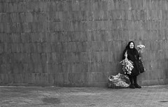 The last chance ! (alex crisan) Tags: street flowers hope photo no oldwoman selling timisoara flori batrana blackwhitephotos