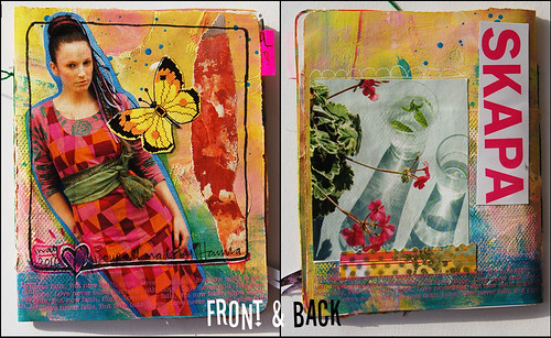 XS Journal back & front