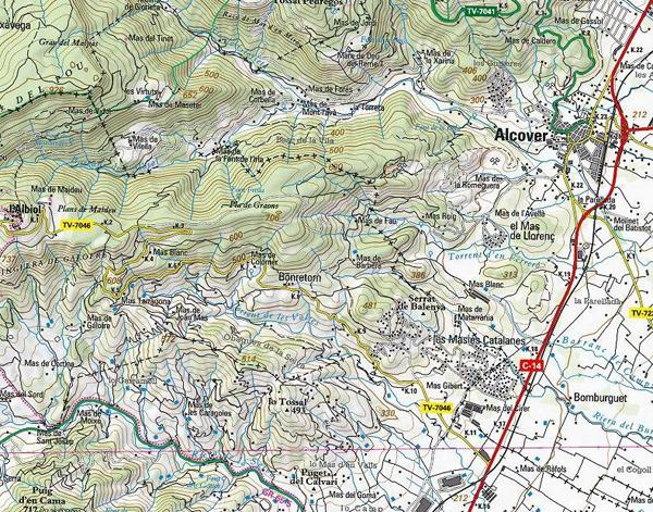 Mapa Bonretorn 1