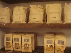 Organic dog cookies at Harrod's, London