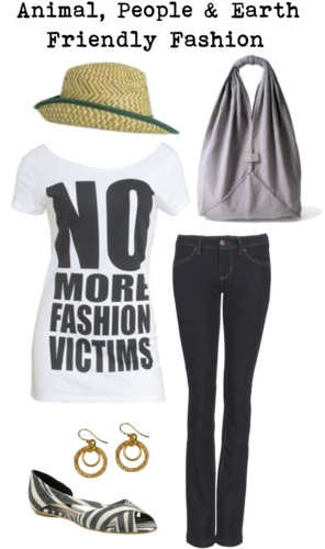 Polyvore: Animal, People &  Earth Friendly Fashion
