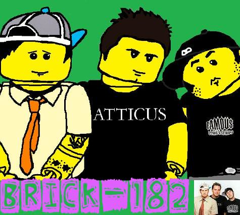 brick-182 - Lego blink-182