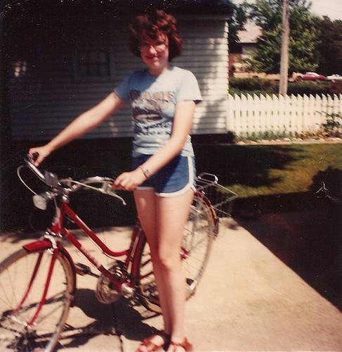 Red Schwinn Suburban, circa 1980