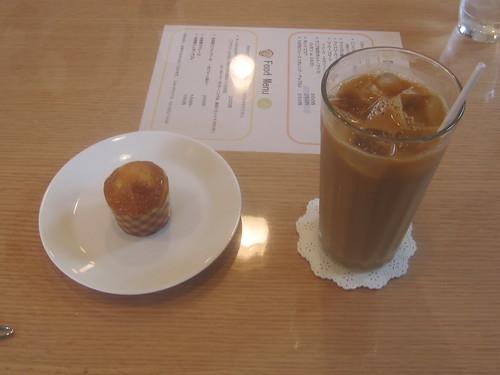 マドレーヌ&アイスコーヒー
