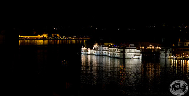 Taj Lake Palace By Night