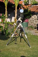 O Antares a olhar para o sol (Cristvo Cunha) Tags: 5 telescope astrofotografia encontro antares amadores refractor lxd75 telescpio dornelas telescpios astrnomos astroconvvio encontrodeastrnomosamadores f944