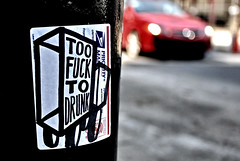 2 Fuk (damonabnormal) Tags: street city urban streetart philadelphia graffiti nikon sticker stickerart label stickers may streetphotography urbanart pa labels philly slap phl 215 2011 d90 citystickers postallabelgraffiti
