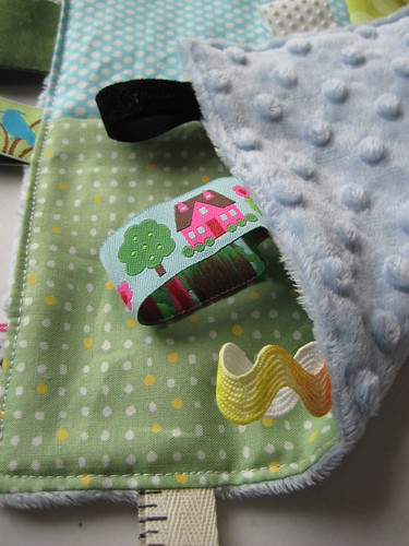 Tag Blankie detail by Poppyprint
