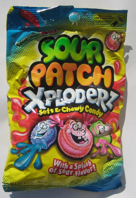 Sour Patch Xploderz bag