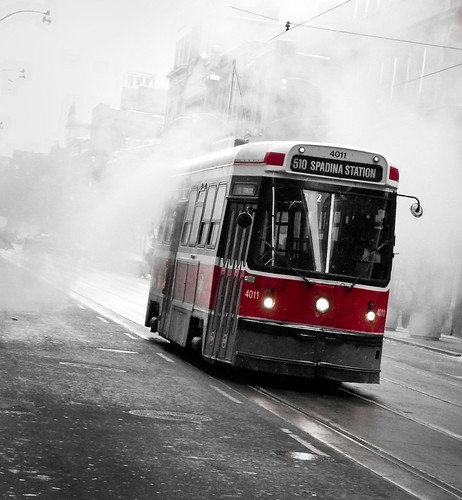 Streetcars in the Mist