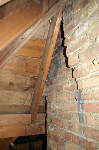 Boiler chimney (detail)