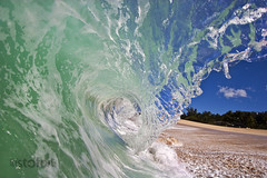 Blade ( KristoforG) Tags: ocean beach water canon photography hawaii sand surf underwater pacific tube barrel wave tsunami housing lip blade curl tidal gellert keiki kristofor waterhousing kristoforg