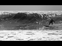 Bottom Turn - Black & White (s0ulsurfing) Tags: ocean light shadow sea blackandwhite bw sunlight white seascape black praia beach water silhouette sport sparkles contrast speed point fun island grey mono bay coast mar surf waves play bright action surfer board shoreline silhouettes wave monotone surfing spray sparkle coastal shore foam vectis isleofwight surfboard surfers letterbox rollers reef 2008 swell isle olas sparkling channel thruster englishchannel wight shimmering shimmer aktion freshwater shortboard lamanche freiheit groundswell westwight surfen pacey freshwaterbay pointbreak bottomturn s0ulsurfing aplusphoto