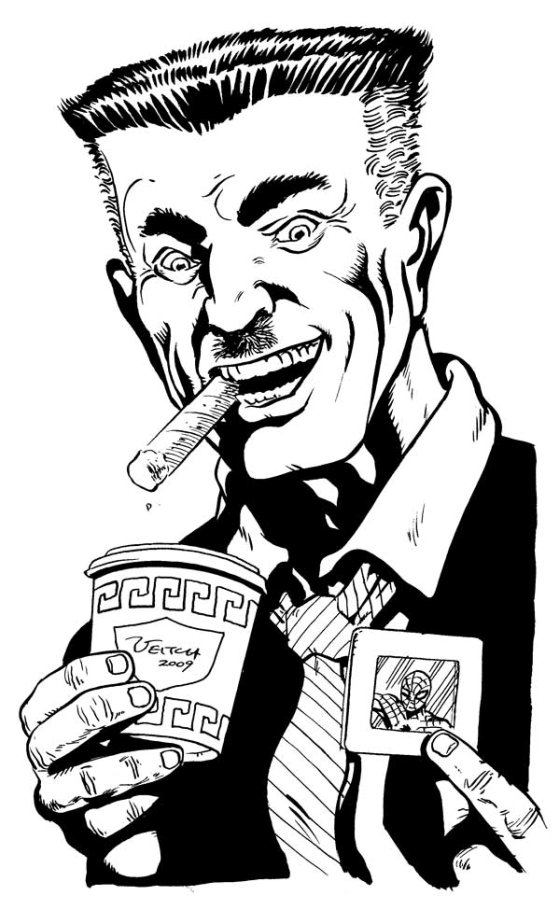 J Jonah Jameson, by Rick Veitch
