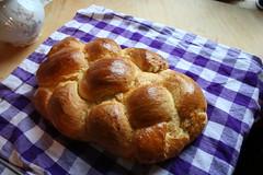 Zopf Swiss Egg Bread - Bread making machine