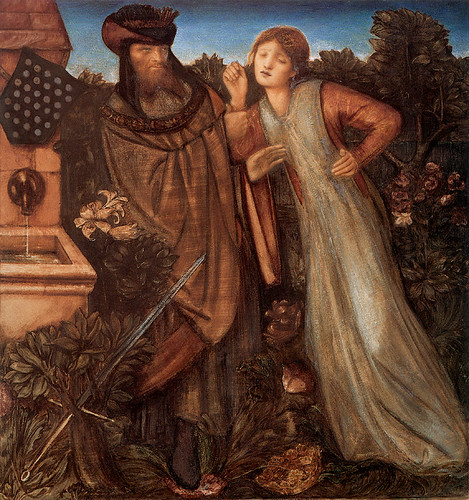 Burne-Jones, King Mark and La Belle Iseult, 1862