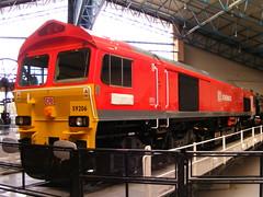 59206 (mike_j's photos) Tags: york uk fuji railway db turntable nrm nationalrailwaymuseum schenker ews class59 59206 s5700