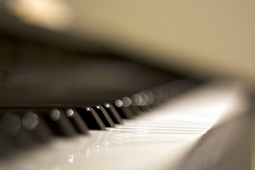 Piano Bokeh