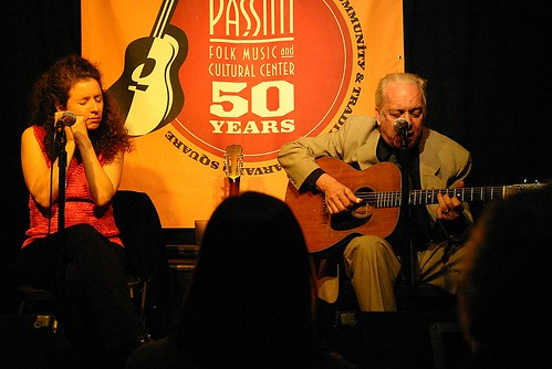 Paul Rishell and Annie Raines, Club Passim, January 24, 2009