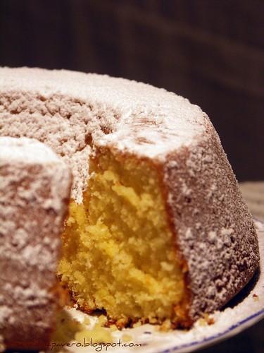 Torta panna e toffee