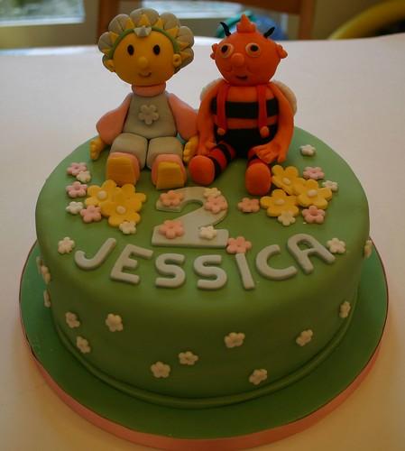 Fifi and Bumble cake