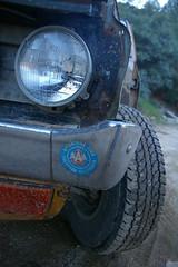 reconstructive surgery! (Shutter Theory) Tags: working pickup tire 1973 datsun butterscotch 620 l20b bulletside pl620