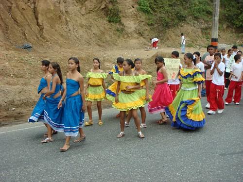 Festival in Puerto Valdívia, Colombia.