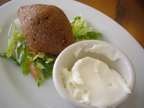 Kibbeh from Lavash Cafe (Clintonville, OH)