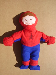 Spiderman (**Taller Muy Freak**) Tags: girls boys colors children toys doll nios colores kindergarten ragdolls trapo muecos fabrics telas clothdolls