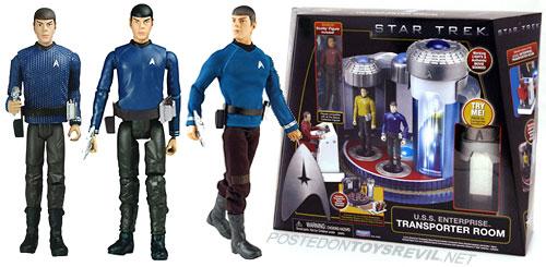 "Star Trek Scotty 3.75/"" ACTION FIGURE 2009"